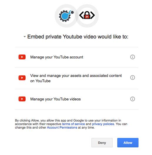 Authorize Google App 2