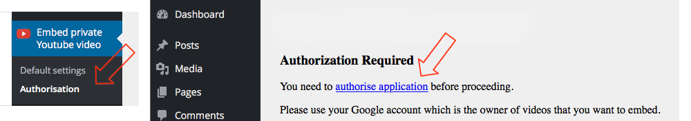 Authorize Google App 1