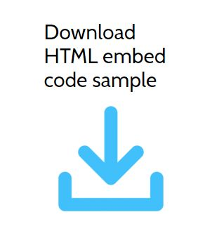 Download HTML embed code
